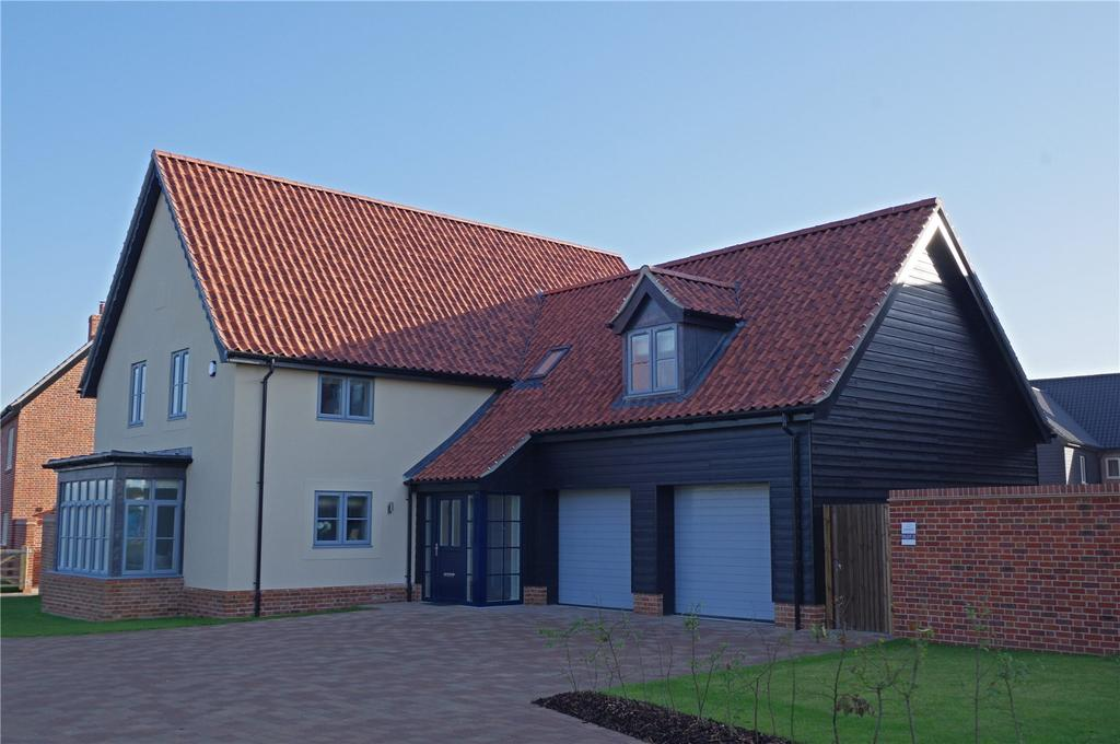 4 Bedrooms Detached House for sale in Plot 3 Newlands Gate, Bunwell Road, Spooner Row, Wymondham, NR18
