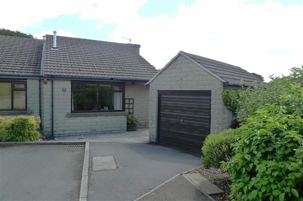 2 Bedrooms Semi Detached Bungalow for sale in Silverlands Close, Buxton, Derbyshire