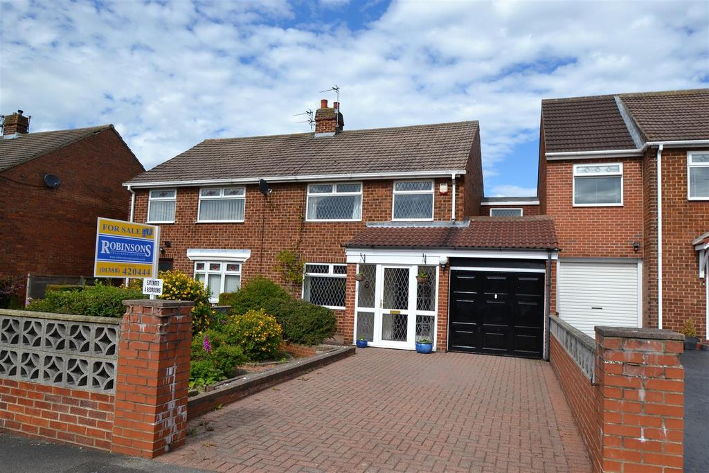 4 Bedrooms Semi Detached House for sale in Willow Road, Middlestone Moor