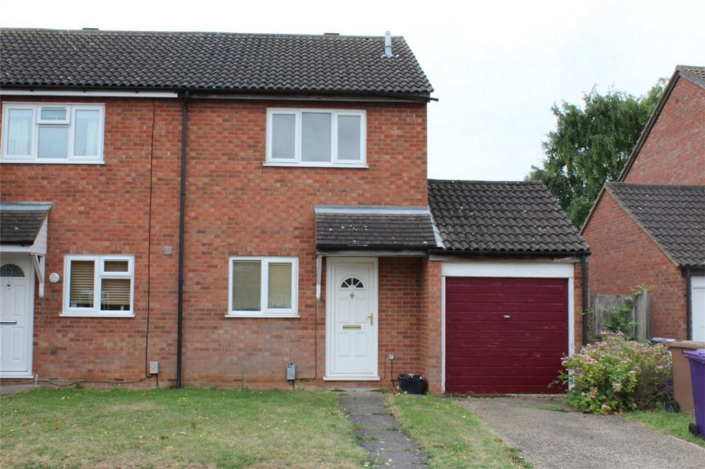 2 Bedrooms Semi Detached House for sale in Barley Rise, Baldock, Hertfordshire