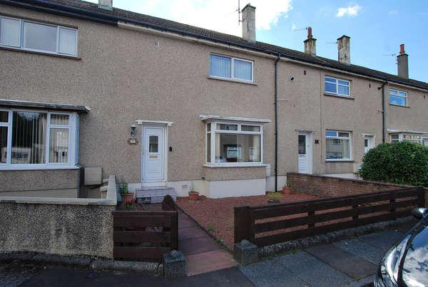 2 Bedrooms Terraced House for sale in 51 Orangefield Drive, Prestwick, KA9 1HF