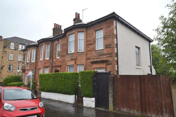3 Bedrooms End Of Terrace House for sale in 21 Ballogie Road, Cathcart, Glasgow, G44 4SZ