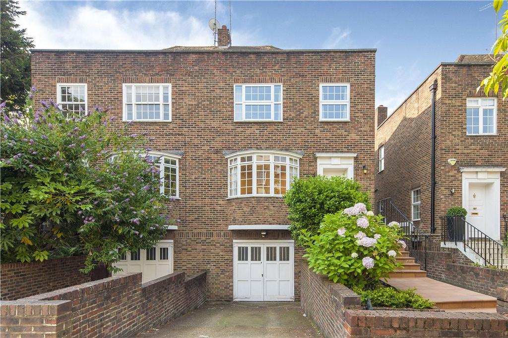 4 Bedrooms Semi Detached House for sale in Boundary Road, London, NW8