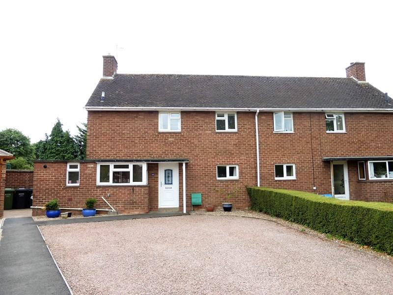 3 Bedrooms Semi Detached House for sale in Battleton Road, Evesham