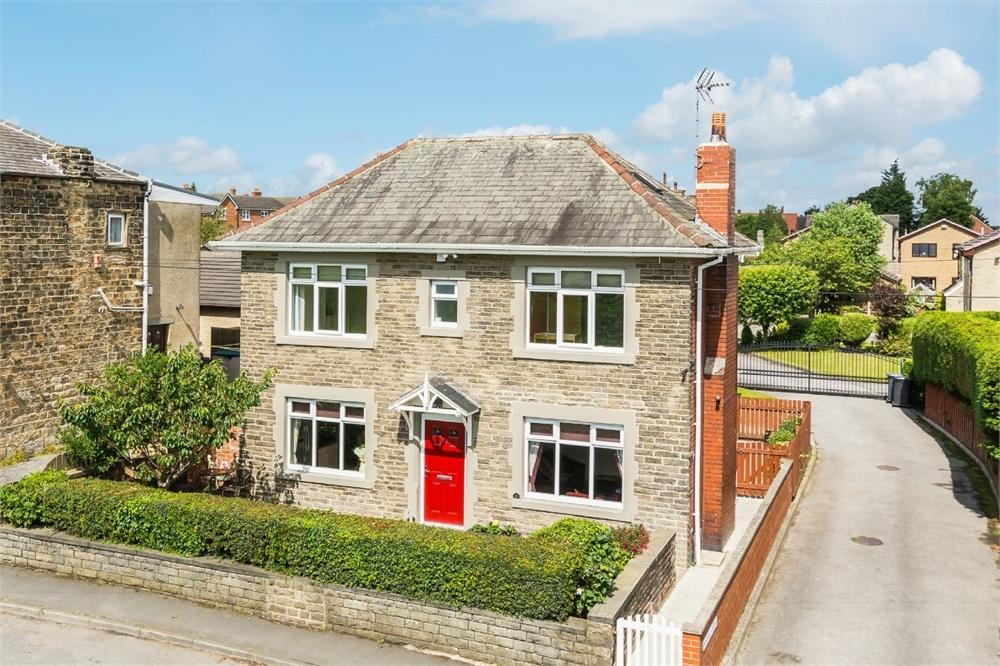 3 Bedrooms Detached House for sale in Windy Bank Lane, HARTSHEAD MOOR, West Yorkshire