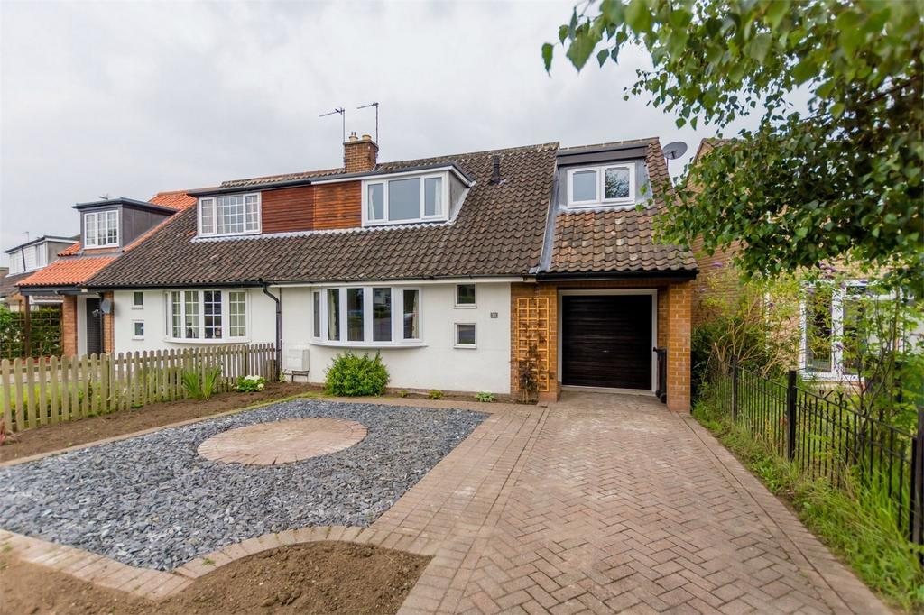 3 Bedrooms Semi Detached House for sale in Bramley Garth, York