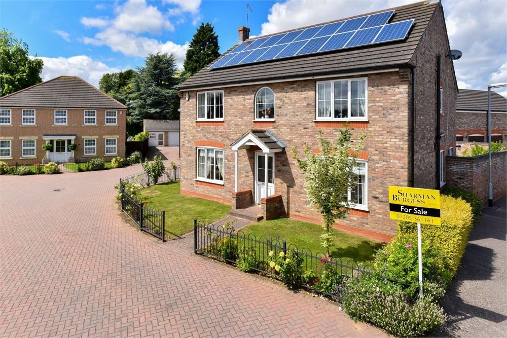 4 Bedrooms Detached House for sale in Seedlands Close, Boston, Lincolnshire