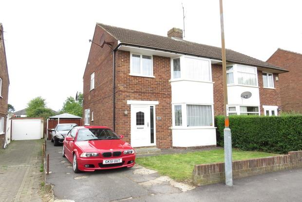 3 Bedrooms Semi Detached House for sale in St. Albans Road, Spinney Hill, Northampton, NN3