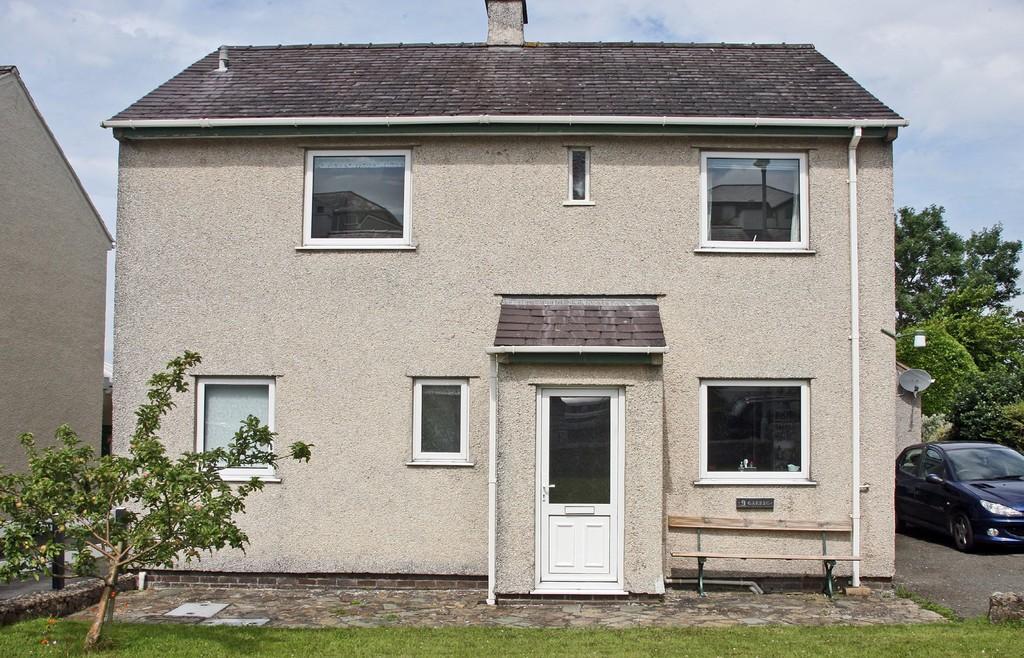 4 Bedrooms Detached House for sale in Llys Gwyn, Caernarfon, North Wales
