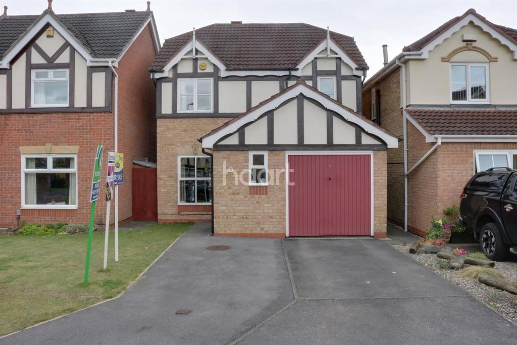3 Bedrooms Detached House for sale in Forge Mill Grove, Hucknall