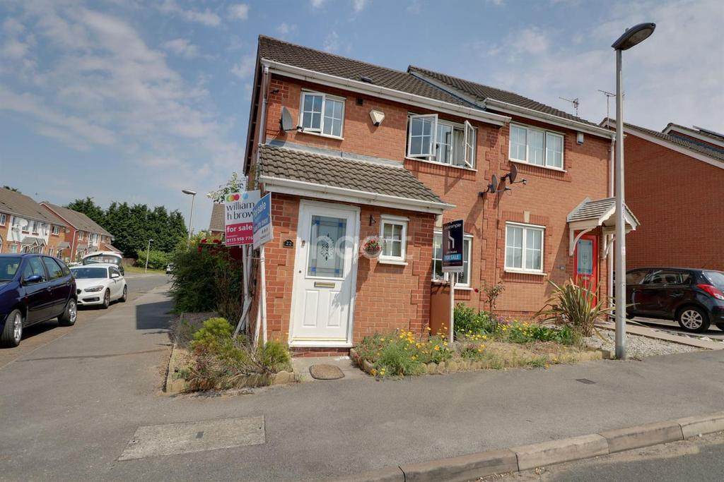 3 Bedrooms Semi Detached House for sale in Meadow Brown Road,
