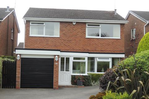 4 bedroom detached house for sale - Woodrow Crescent, Knowle, Solihull