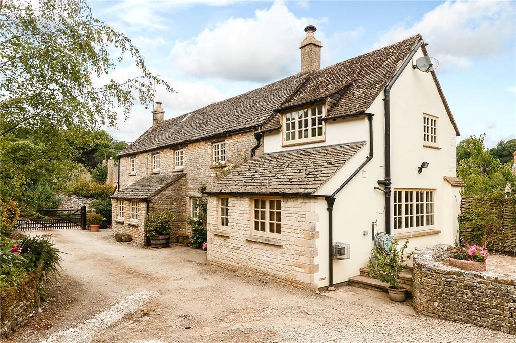 4 Bedrooms Detached House for sale in Duntisbourne Leer, Cirencester, Gloucestershire
