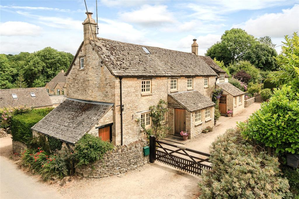 4 Bedrooms Detached House for sale in Duntisbourne Leer, Cirencester, Gloucestershire
