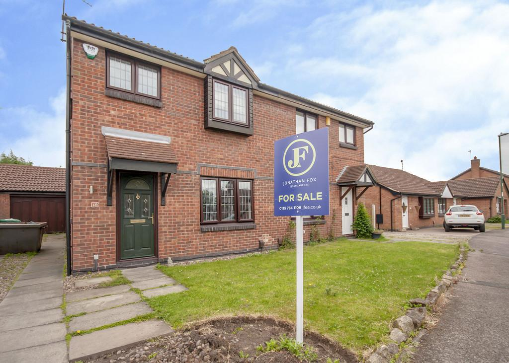 3 Bedrooms Semi Detached House for sale in Callaway Close, Wollaton