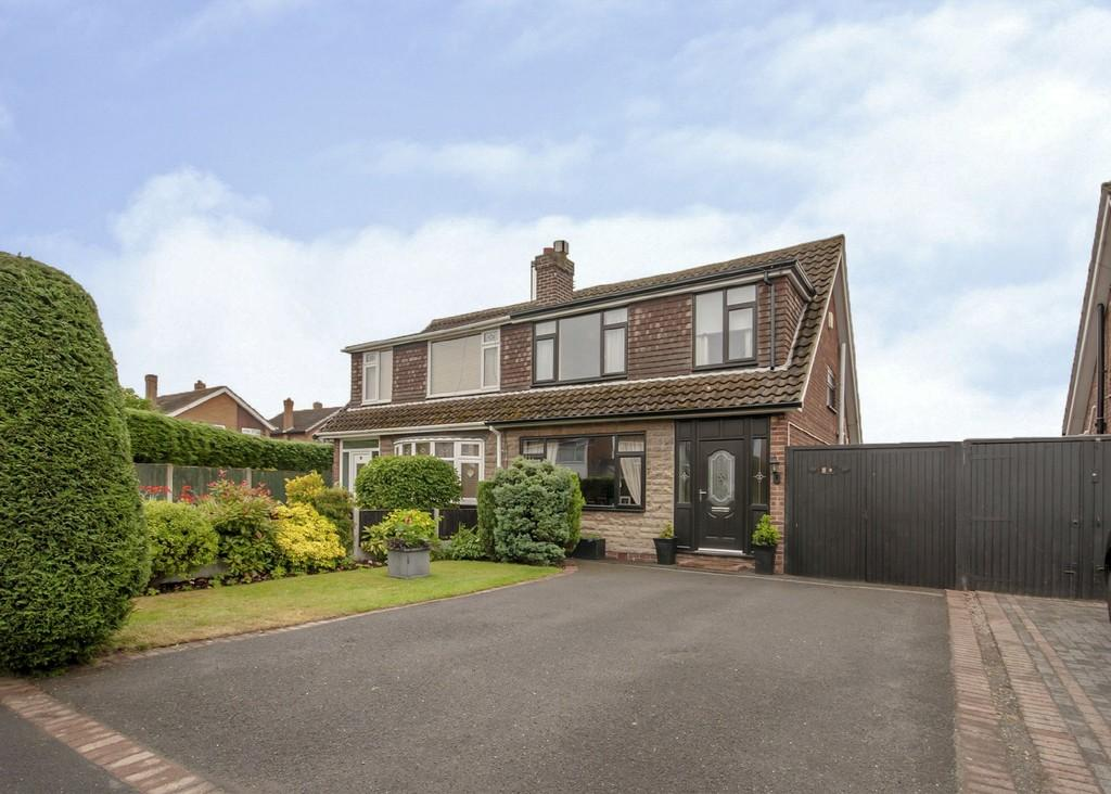 3 Bedrooms Semi Detached House for sale in Weston Crescent, Long Eaton