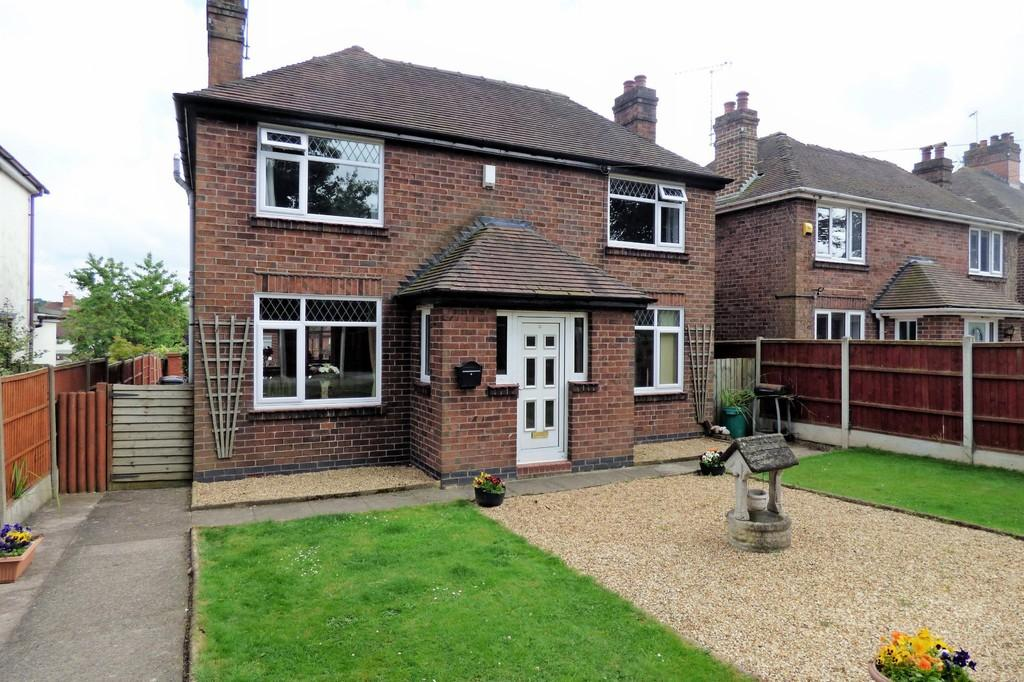 4 Bedrooms Detached House for sale in Stafford Road, Uttoxeter