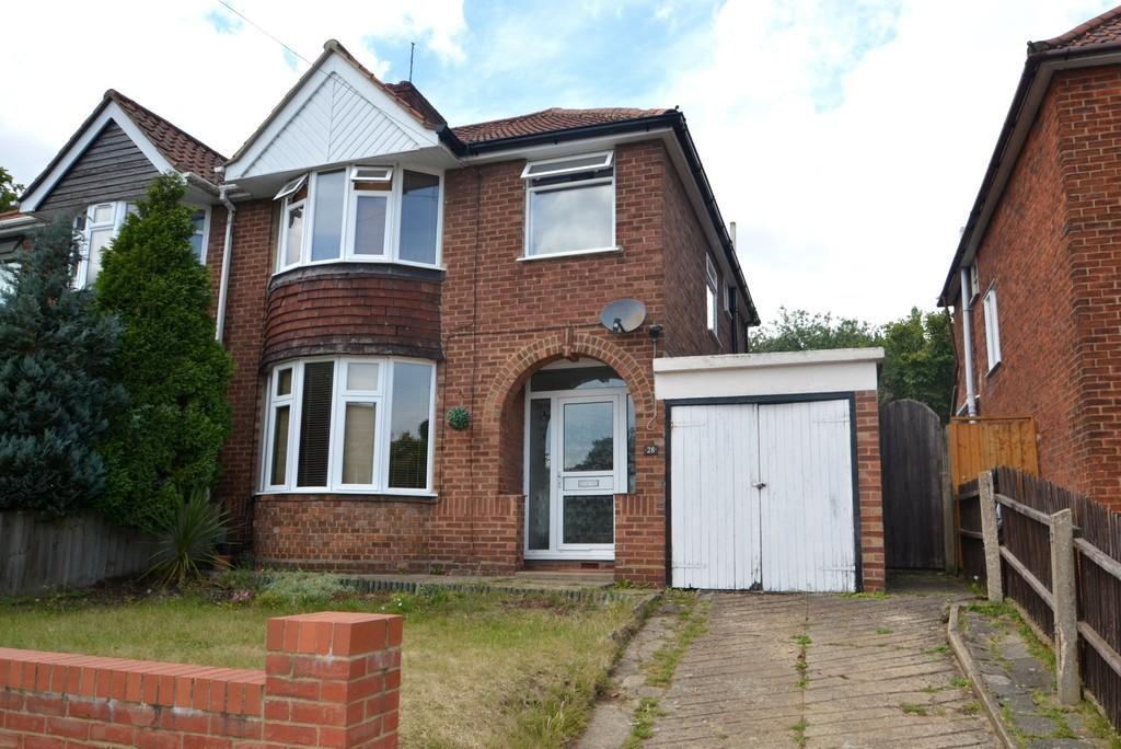 3 Bedrooms Semi Detached House for sale in Belstead Avenue, Ipswich, Suffolk, IP2 8NP