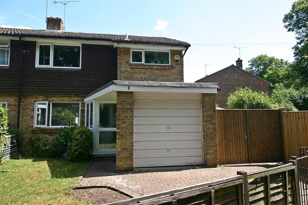 3 Bedrooms Semi Detached House for sale in Netley Lodge Close, Netley Abbey, Southampton, SO31 5BT