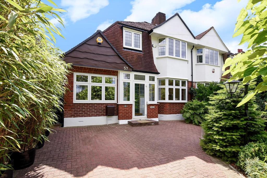 4 Bedrooms Semi Detached House for sale in Eversley Road, Crystal Palace, SE19