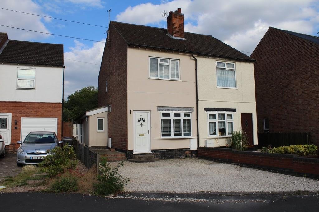 3 Bedrooms Semi Detached House for sale in Sullington Road, Shepshed