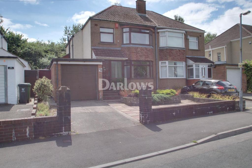 3 Bedrooms Semi Detached House for sale in Glastonbury Terrace, Llanrumney, Cardiff