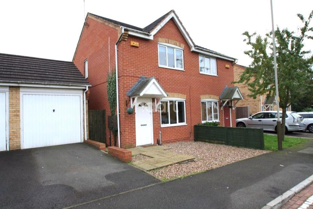 2 Bedrooms Semi Detached House for sale in Keswick Close, Leicester