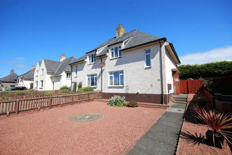 3 Bedrooms Semi-detached Villa House for sale in 15 Chalmers Avenue, Ayr, KA7 2NF