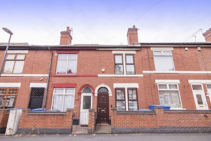 2 Bedrooms Terraced House for sale in CREWE STREET, DERBY