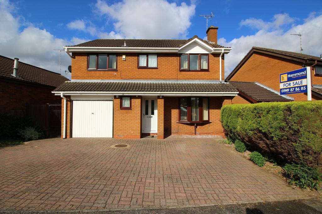 4 Bedrooms Detached House for sale in Wychwood Road, Bingham NG13