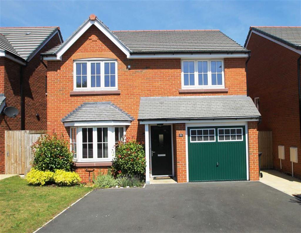4 Bedrooms Detached House for sale in Raven Close, Farndon