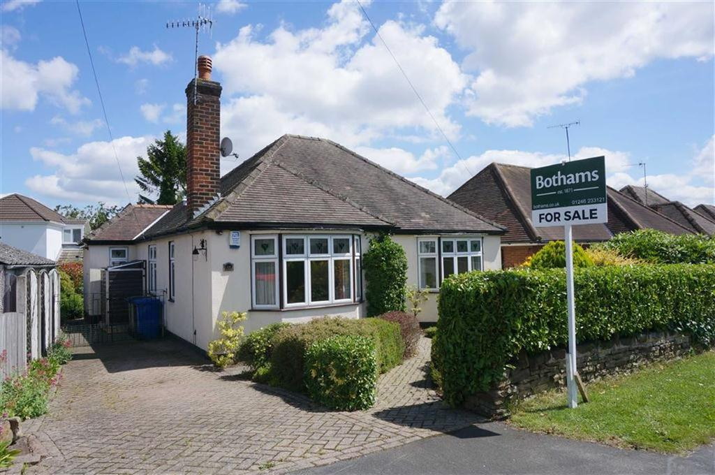 3 Bedrooms Detached Bungalow for sale in Queen Mary Road, Brampton, Chesterfield, S40