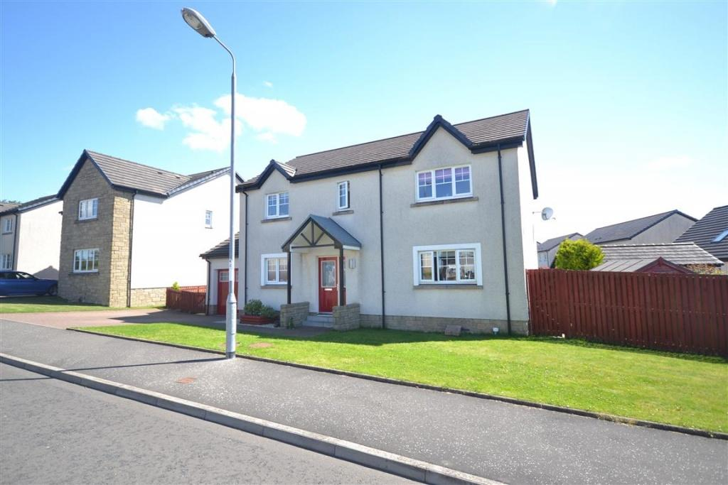 4 Bedrooms Detached Villa House for sale in 9 Langholm View, Ochiltree, KA18 2DE