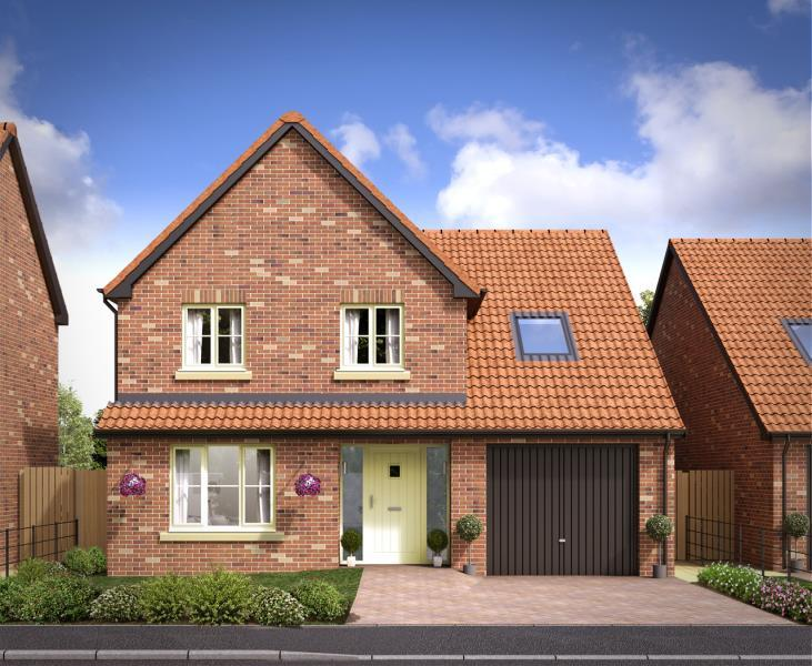 4 Bedrooms Detached House for sale in PLOT 23 FAREFIELD CLOSE, DALTON YO7 3FD