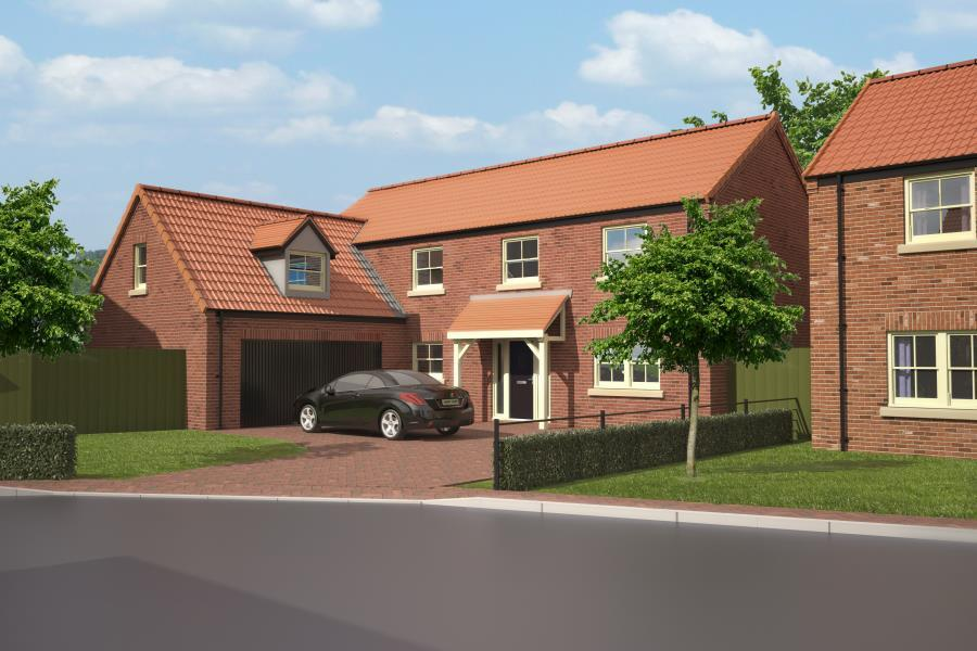 5 Bedrooms Detached House for sale in PLOT 14, FAREFIELD CLOSE, DALTON YO7 3FD
