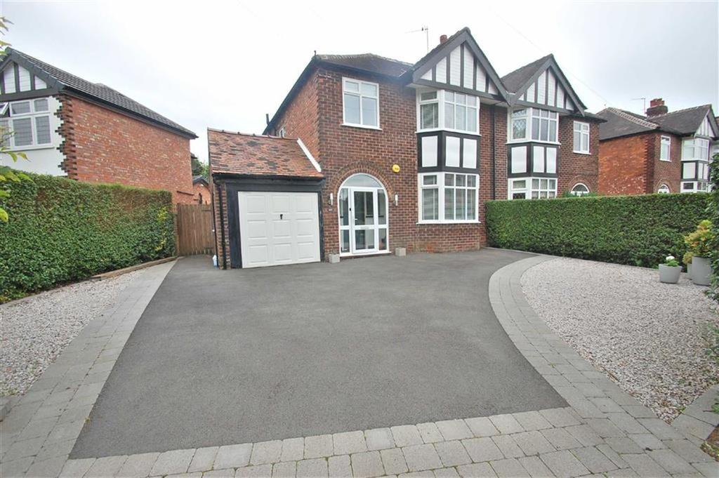 3 Bedrooms Semi Detached House for sale in West Park Road, Bramhall, Cheshire