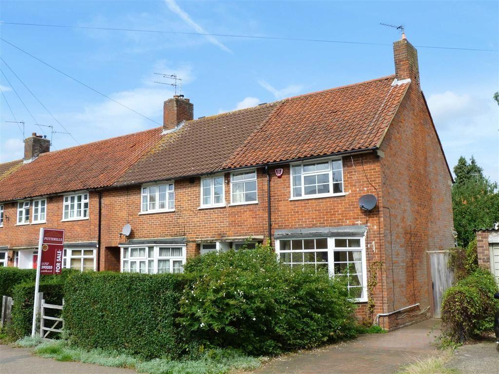 3 Bedrooms End Of Terrace House for sale in Handside Lane, West Side, Welwyn Garden City