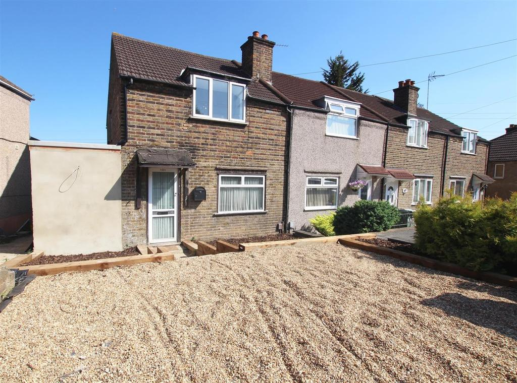 3 Bedrooms End Of Terrace House for sale in Green Walk, Crayford,