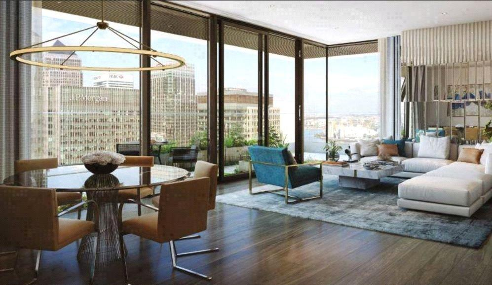 Studio Flat for sale in Wardian London, Canary Wharf, London, E14