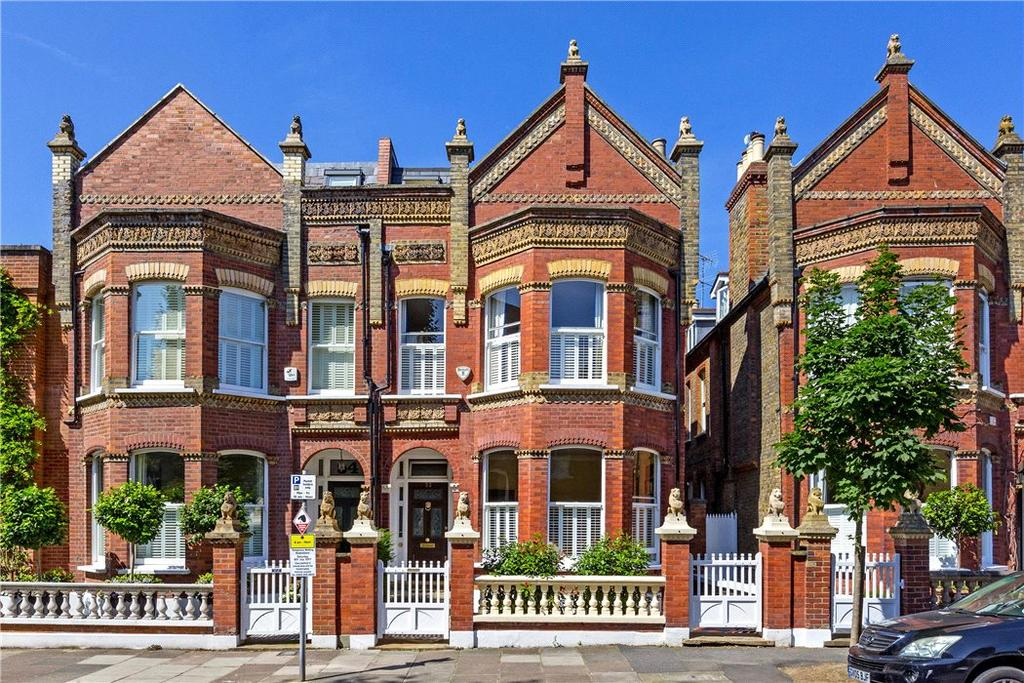 5 Bedrooms Semi Detached House for sale in Glebe Road, London, SW13