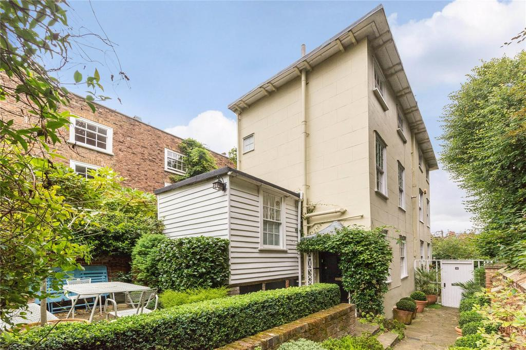 2 Bedrooms Semi Detached House for sale in Prospect Place, Hampstead Village, London