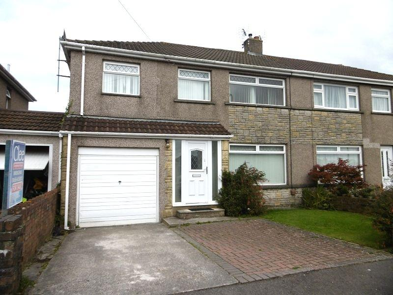 4 Bedrooms Semi Detached House for sale in , Glenwood Close, Coychurch, Bridgend, Mid. Glamorgan.