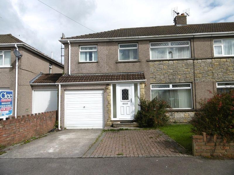 4 Bedrooms Semi Detached House for sale in , Glenwood Close, Coychurch, Bridgend, Mid. Glamorgan.