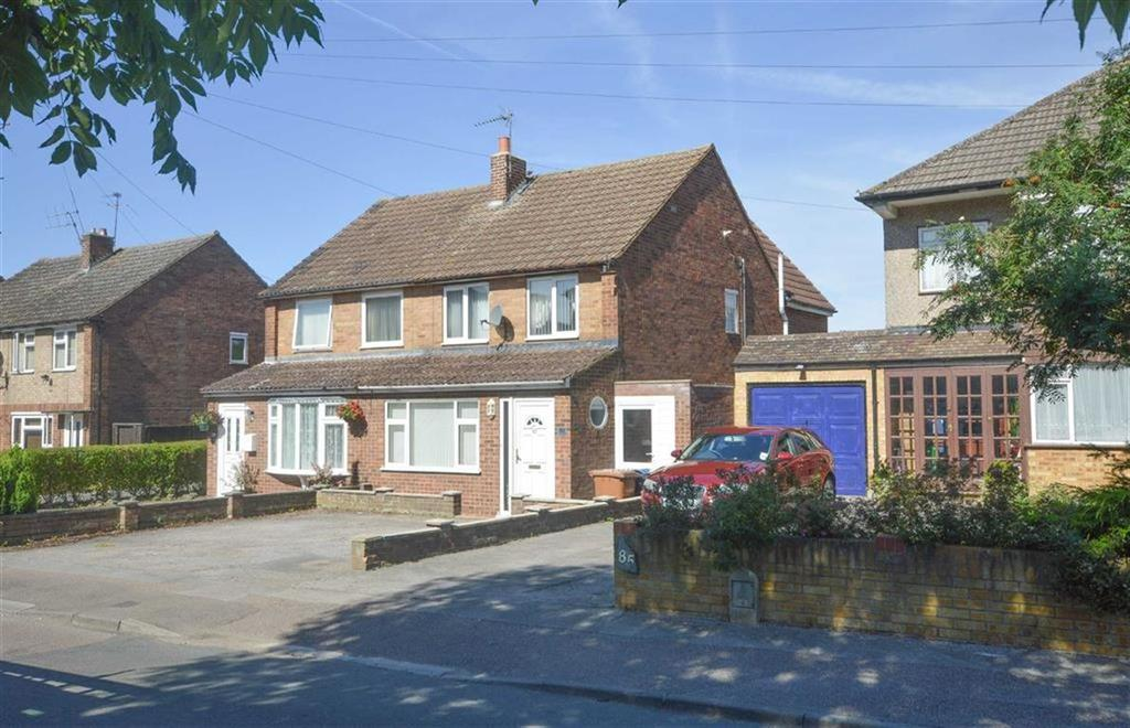 3 Bedrooms Semi Detached House for sale in Cozens Road, Ware, Hertfordshire, SG12