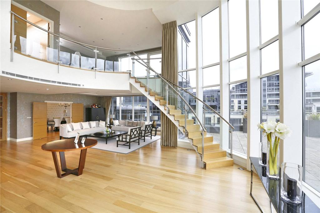 4 Bedrooms Penthouse Flat for rent in Imperial Wharf, Lensbury Avenue, London, SW6