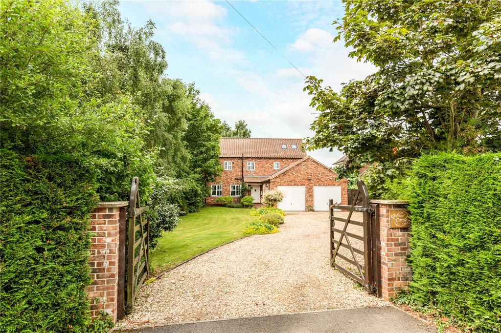 4 Bedrooms Detached House for sale in Oasby, Grantham, Lincolnshire, NG32