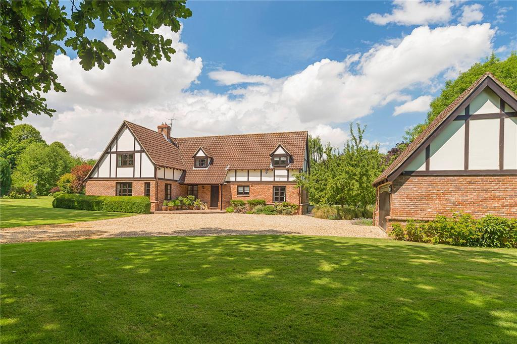 5 Bedrooms Detached House for sale in Church Lane, Burrough Green, Newmarket, Suffolk, CB8