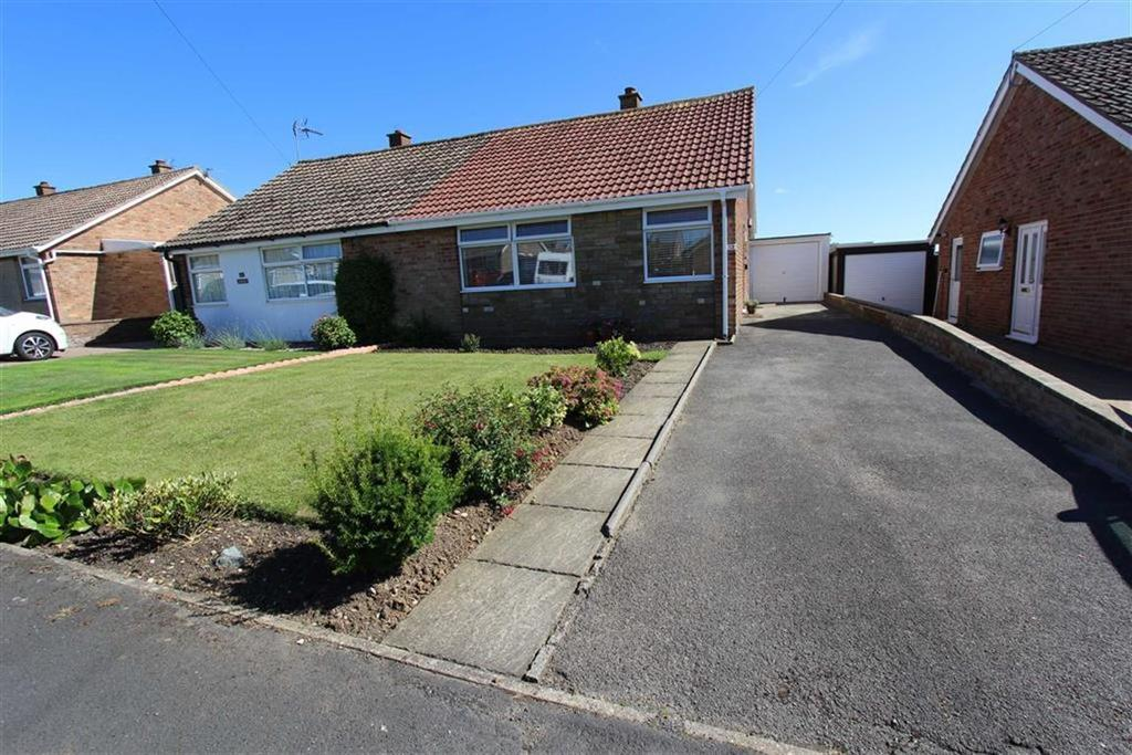 2 Bedrooms Semi Detached Bungalow for sale in Newstead Crescent, Bridlington, East Yorkshire, YO16