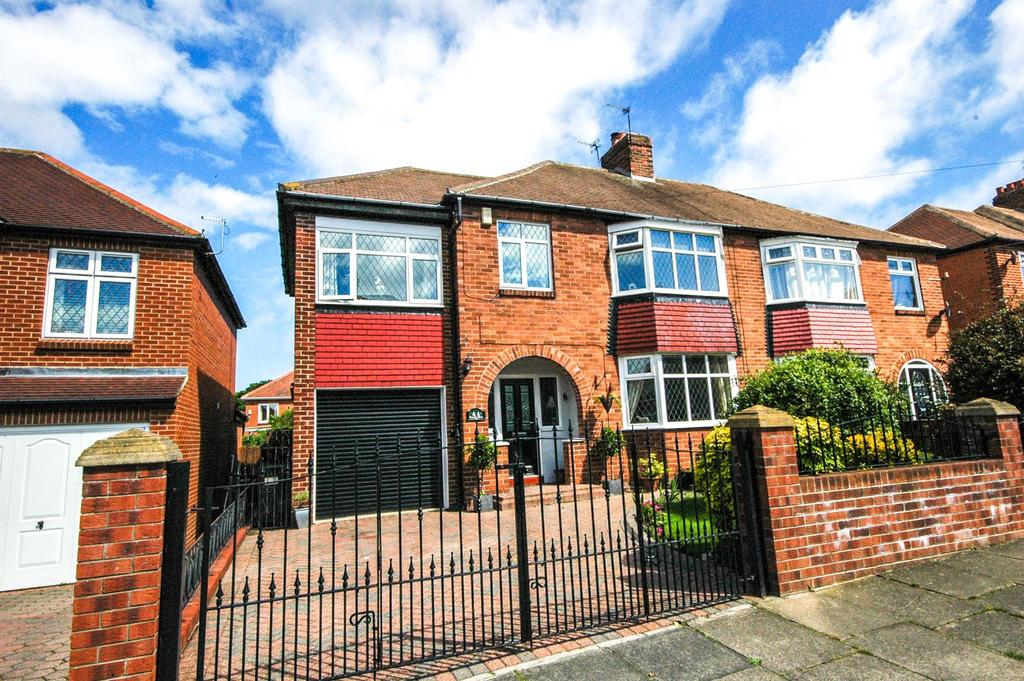 4 Bedrooms Semi Detached House for sale in Meadow Laws, South Shields