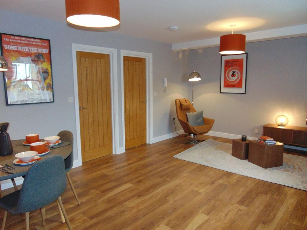3 Bedrooms Apartment Flat for sale in John Dalton Apartments, Challoner Street, Cockermouth, Cumbria, CA13 9LE